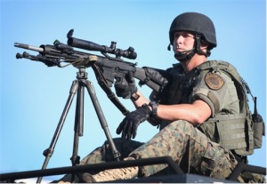 Ferguson-Clashes-Ferguson-Police-Like-Military-Unit-Sniper-1