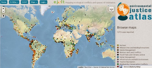 Atlas Conflictos Ambientales