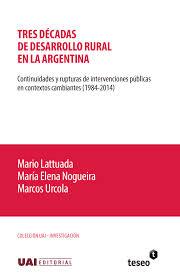 Tres décadas D. Rural Argentina